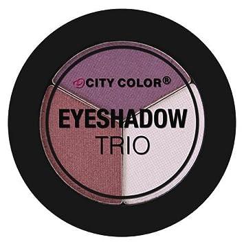 Amazon.com: City color Blooming Flores sombra de ojos Trio ...