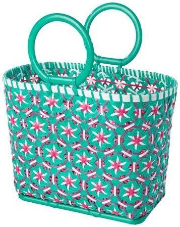 IKEA cesta de Picnic, blanco, verde 628.14526.618: Amazon.es: Jardín