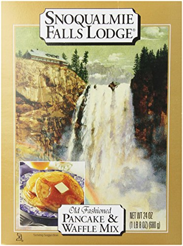 Price comparison product image Snoqualmie Falls Lodge Pancake & Waffle Mix,  24-Ounces