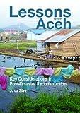 Lessons from Aceh, Jo da Silva, 1853397008