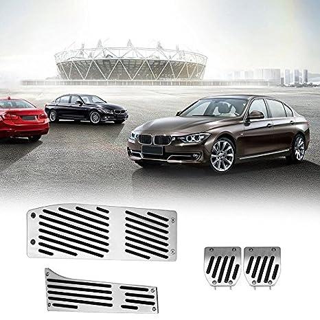 Juego de 4 pedales para acelerador de freno para BMW Serie Stick Shift Accesorios para coche Juego de pedales de embrague auto para unidad de volante a la ...