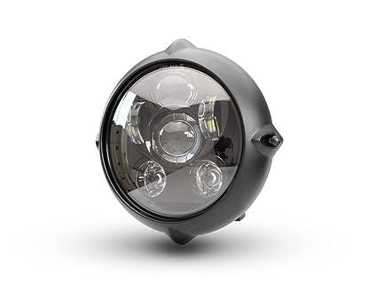 Moto LED Faro Delantero para Proyector Clásico a Medida Retro ...
