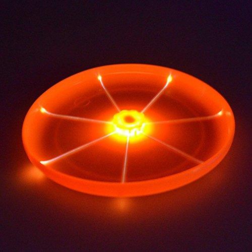 Harukokoro(TM)Pet Supplies Dog Training Light Toy Luminescent Ultimate LED Dog Frisbee Flying...