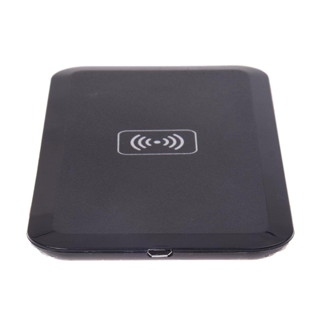 SODIAL (R)cargador Wireless Qi energia Cargador Pad para Samsung Galaxy S3 S4 Note3 Negro: Amazon.es: Electrónica
