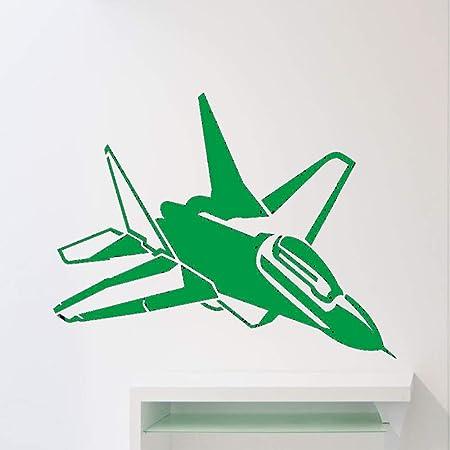 Zaosan Avión Cool Wall Sticker para habitación de niños Estilo ...