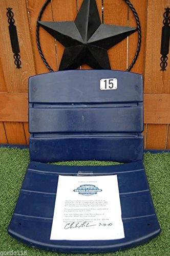 Dallas Cowboys Texas Stadium AUTHENTIC Chair Seat W/ COA PICK YOUR NUMBER!
