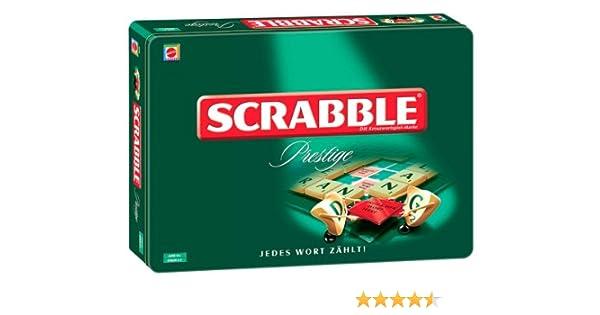 Mattel K6536 – Scrabble Prestige: Amazon.es: Juguetes y juegos