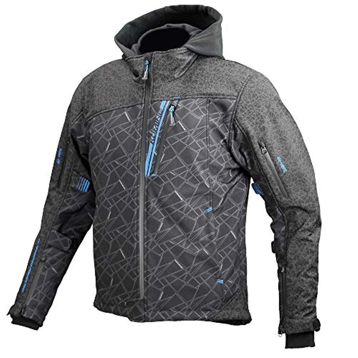 [해외] 코미네 KOMINE 오토바이 프로텍트 소프트 쉘 겨울 파카 재킷 아우터 프로텍터 방풍 보온 추동 HR BLACK/ WL(레이디스) 07-590 JK-590