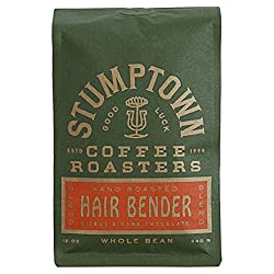 Stumptown Coffee Roasters Hair Bender Whole Bean Coffee, 12 oz