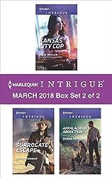 Harlequin Intrigue March 2018 - Box Set 2 of 2: Kansas City Cop\Surrogate Escape\Appalachian Abduction