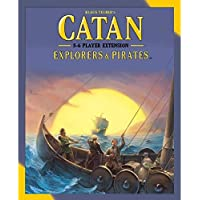 Mayfair Games Catan Expanison: Exploreres & Pirates 5-6 Players