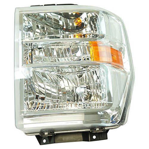- Halogen Headlight Lamp Assembly LH Driver Side for Ford Van Pickup Brand