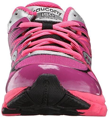 Saucony Zealot Sneaker (Little Kid/Big Kid) Magenta/Black