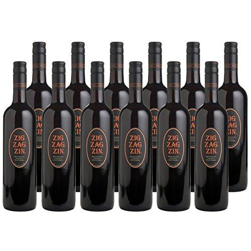 Zig Zag Zin 2014 Zinfandel Mendocino County Wine Case-Pack, 12 x 750 mL by Zig Zag Zin