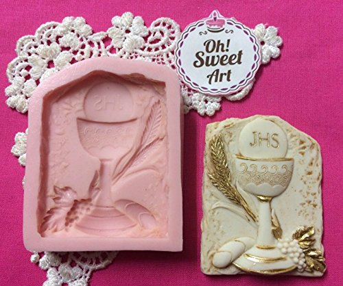 First Communion Chalice I, Cupcakes Silicone Mold By Oh! ...