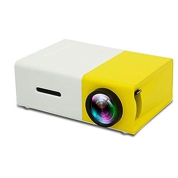 Proyector LED Proyector HDMI con Pantalla De 80