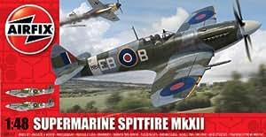 Airfix - Kit de modelismo, avión Spitfire MkXII, 1:48 (Hornby A05117)