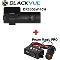 BlackVue DR650GW-1CH 16GB with Power Magic Pro, Car Black Box/Car DVR Recorder, Built-in Wi-Fi, Full HD, G Sensor, GPS, 16GB SD Card Included, upto 64GB support
