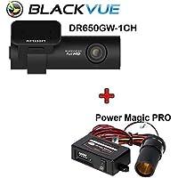 BlackVue DR650GW-1CH 16GB with Power Magic Pro, Car Black Box/Car DVR Recorder, Built-in Wi-Fi, Full HD, G Sensor, GPS, 16GB SD Card Included, upto 64GB support