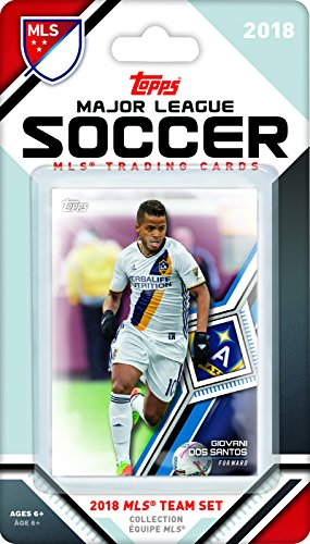 Los Angeles Galaxy 2018 Topps MLS Soccer Factory Sealed 6 Card Team Set with Giovani dos Santos and Emmanuel Boateng plus