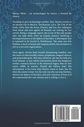 Karina Whitt And the City of the Gods (Volume 2) by Aloft