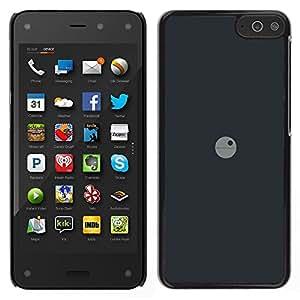 EJOY---Cubierta de la caja de protección la piel dura para el / Amazon Fire Phone / --Deathstar Mínimo