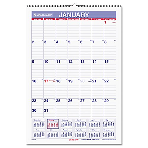 GLANCE PMLM03 28 Recycled Erasable Calendar