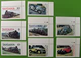 Lot of Unused Tanzania Stamps : Flowers, Animals, Birds, Native Fauna, Queen Elizabeth and Royal Family, Vintage Train / Metro, Cars