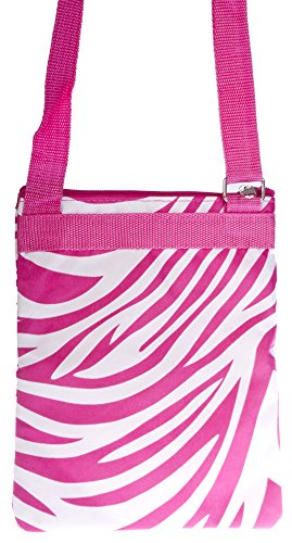 Crossbody Bag Zebra Pink White Zebra Crossbody Bag qpHaz