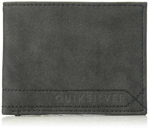 (Quiksilver Men's STITCHY Wallet IV, black, M)