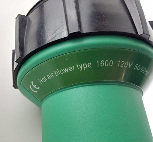 Plastic Welder Gun/Heat Gun/Hot Air Gun And Accessories Vinyl Floor Hot Air Welding Kit Hot Air Equipment (welding tool set) by RONGTER (Image #1)