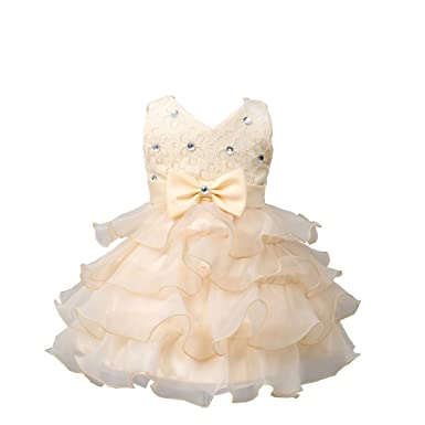 Das beste Kinder Kleid Prinzessin Baby Mädchen Organza rock Blume ...