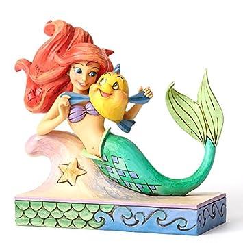 Disney Traditions Fun Et Ses Amis Ariel Et Polochon Neuf