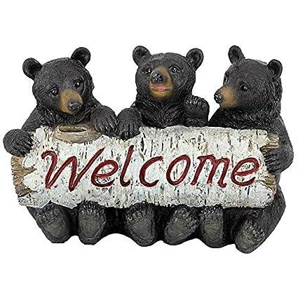 Amazon.com: Design Toscano - Estatua de bienvenida ...