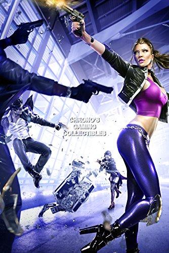 CGC Huge Poster - Saints Row 3 The Third Shaundi Ps3 Xbox 360 PC