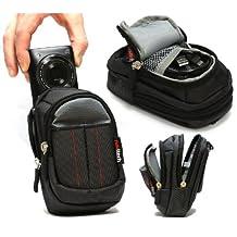 Navitech Black Digital Camera Case Bag For The Casio Exilim EX-100