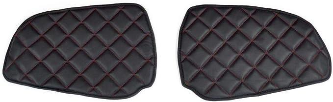 24//7Auto Nero cruscotto Eco tappetini in pelle copre per MAN TGX 2007//19