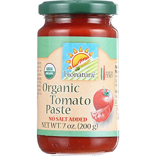 Bionaturae Organic Tomato Paste, 7 Ounce (Pack of 12) ()