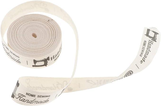 FLAMEER 1 Rollo de Cinta 5 Yardas Hecho a Mano de Tela de Algodón Envoltura Favores de Celebración - Handmade: Amazon.es: Hogar