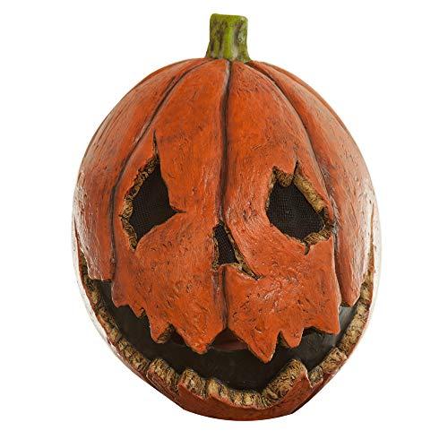 Adult Scary Last Night Pumpkin Halloween Mask