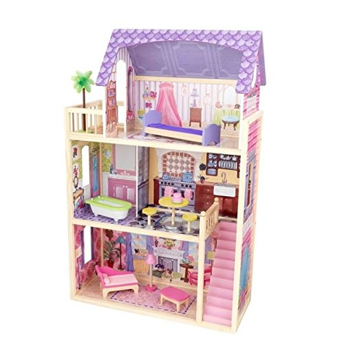 KidKraft Kayla Dollhouse + 10 Pieces of Furniture