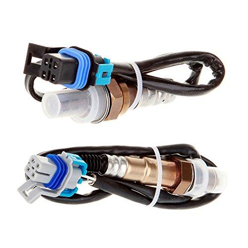 Scitoo Oxygen Sensor Upstream+Downstream SG970 SG1066 for 2005-07 Pontiac Grand Prix 5.3L