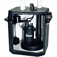 Pentair Simer 2925b 115v 6 Gallon Under Sink Laundry Pump System With Tank