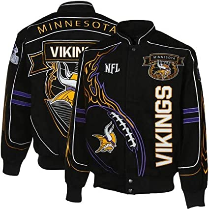 size 40 9fd11 155bf Amazon.com : NFL Minnesota Vikings Big & Tall On Fire Jacket ...