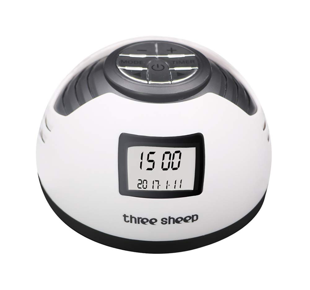 Alarm Clock Function & 8 Unique Natural Sounds White Noise Sound Machine Device,Timer Setting for Baby and Adults Sleep Disorders & Noise Cancelling Home,Office