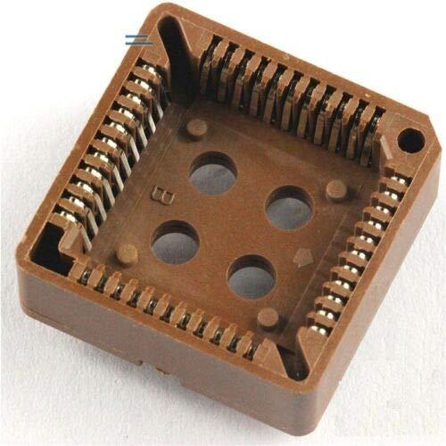 Plcc Ic Socket - FidgetKute 10PCS PLCC44 44 Pin 44Pin DIP IC Socket Adapter PLCC Converter New