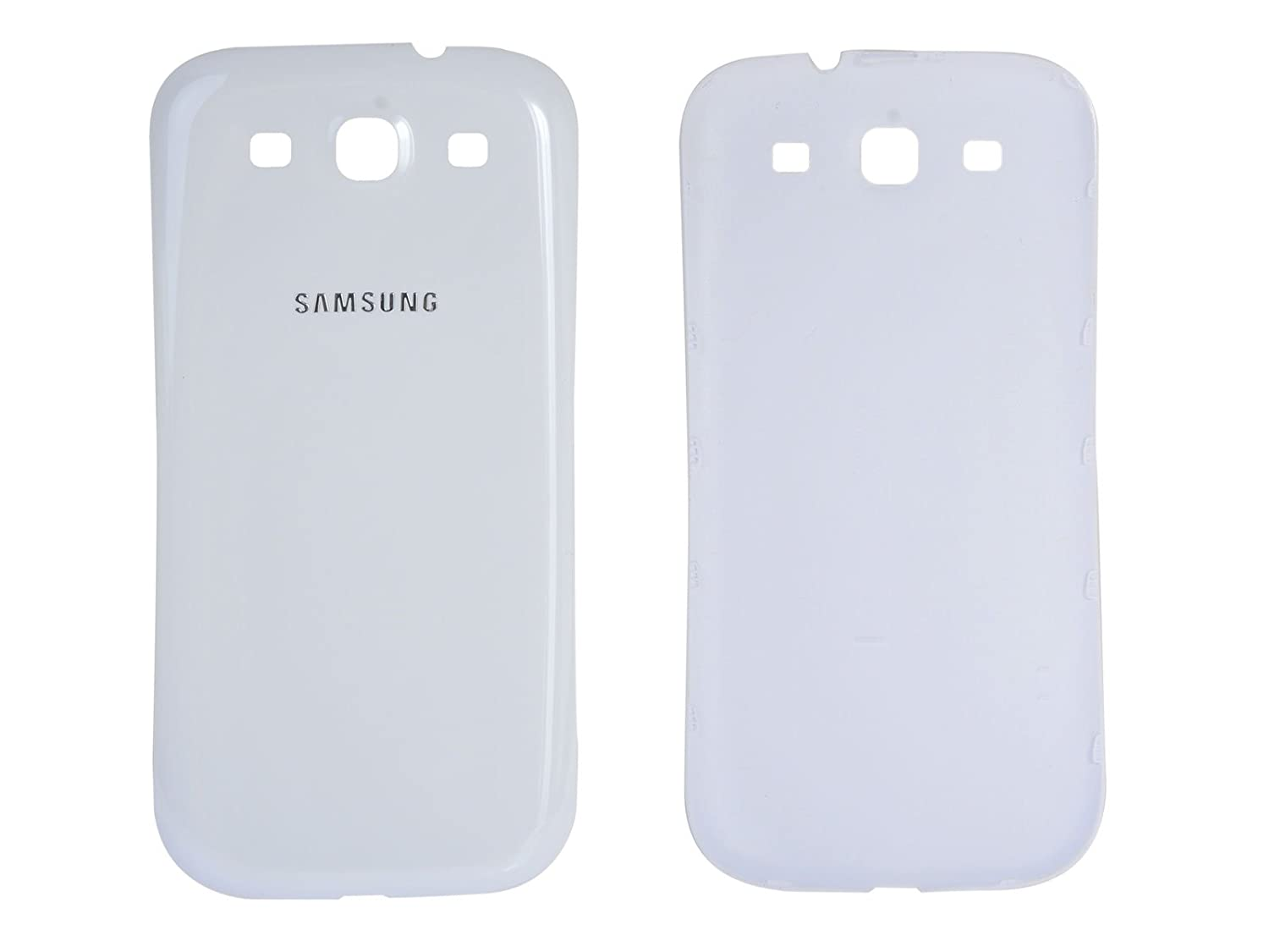 samsung phone back. amazon.com: samsung original back cover for galaxy s3 gt-i9300 - white: cell phones \u0026 accessories phone :