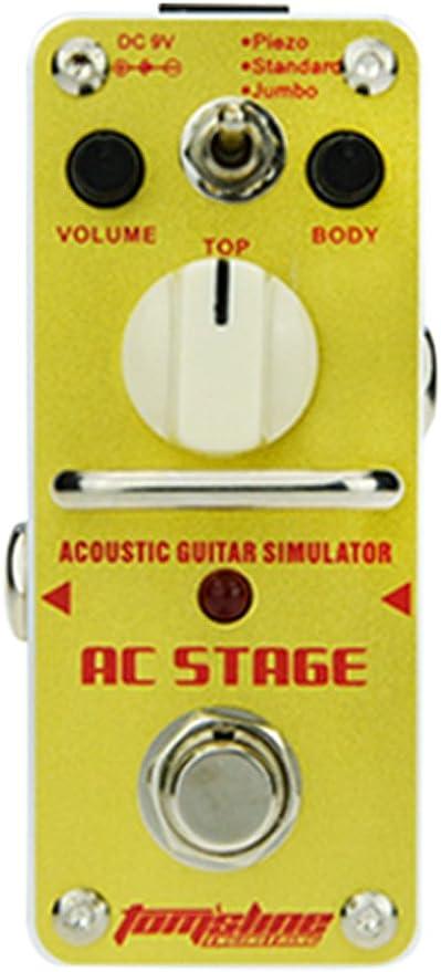 Etapa tomsline aAS3 aC simulador de pedal de la mini, 3-acústica ...