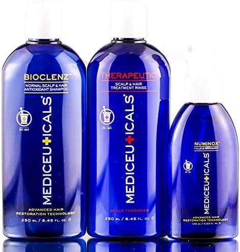 Mediceuticals Hair Restoration Kit For Men - Fine, Thinning Hair