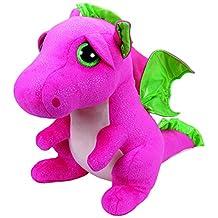 TY Beanie Boos Darla The Pink Dragon Plush Large